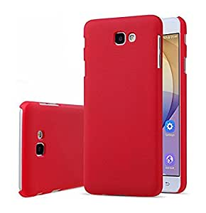 Fabson Frosted Shield Hard Back Cover Case For Samsung Galaxy J5 Prime - Red