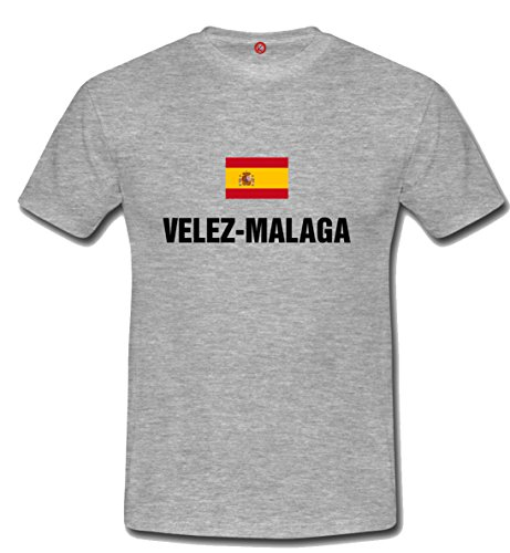 T-shirt Velez malaga Gray