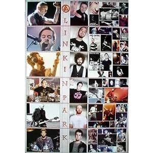 6298-M Linkin Park American Rock Band Chester Bennington Music Wall Dekoration Art Poster Size 23.5'x35'