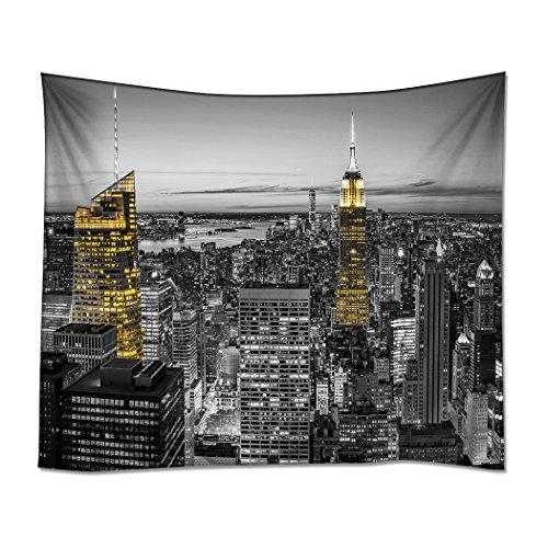YISUMEI Kissenbezug 80x80 cm Home Decor Sofa Werfen Kissenbezüge Pillowcases New York Hohes Gebäude - New York Werfen