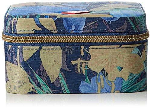 Oilily FF Jewelry Case, Nécessaire Femme - Bleu - Blau (Blueberry 546), 13x13x7 cm (B x H x T)