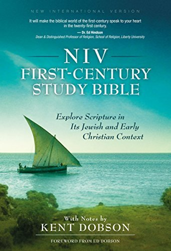 NIV, First-Century Study Bible, Hardcover: Explore Scripture in Its Jewish and Early Christian Context (2014-09-09)