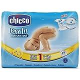 Chicco Dry Fit Advanced Set de 27 Couches pour Nouveau-nés Taille 1