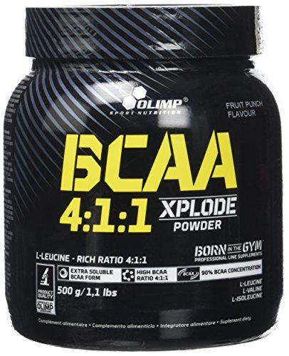 Olimp BCAA 4:1:1 Xplode powder - Aminosäuren, Geschmack Fruchtsaft, 1er Pack (1 x 500 g) (1 4 Punch)