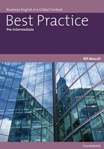 Best practice. Pre-intermediate. Student's book. Con CD Audio. Per le Scuole superiori