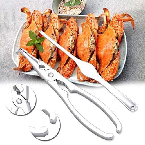 jinqiao Zinc Alloy Lobster Crab Cracker Claw Seafood Nut Shell Opener Kitchen Gadgets Scoop Wall Plate