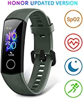 HONOR Band 5 Montre Connectée Homme Bracelet Connecté Montre Intelligente Podometre Cardio Smart Watch Android iOS...