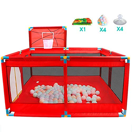 Xyanzi-Tragbares laufgitter Laufstall Kleinkind, Bällebad-Zelt Portable & Travel Kids Bällebad-Laufstall Bällebad Indoor Und Outdoor Easy Folding Play House