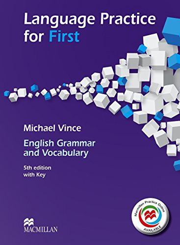 Language Practice for First 5th Edition Student's Book and MPO with Key Pack by Michael Vince (29-Jan-2014) Paperback