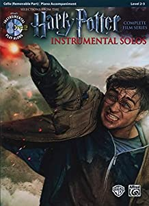Harry Potter Instrumental Solos for Strings: Cello (Book & CD) (Pop Instrumental Solo)