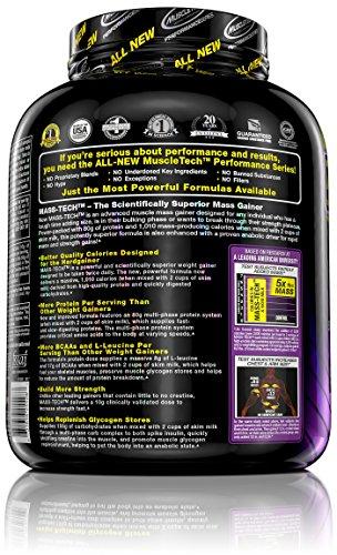 Muscletech Mass-Tech - Vanilla, 1er Pack (1 x 3.2 kg) - 4