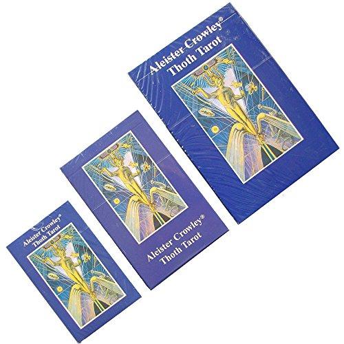 Baraja Thoth Tarot por Aleister Crowley, Mazo de 78 cartas - Bolsillo