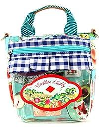 Oilily Picnic Jelly Jar Handbag Sky Blue
