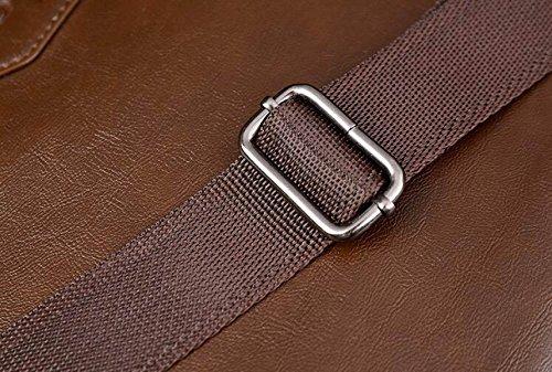 Geschäfts-horizontale Handtaschen-Retro- Mann-Schulter-diagonaler Aktenkoffer B