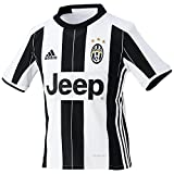 adidas Jungen Fußball/Heim Juventus Turin Replica Trikot, White/Black, 164