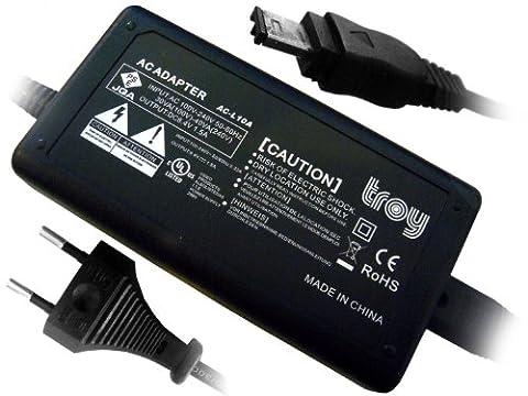 Troy Adaptateur secteur et un chargeur remplacement pour AC L15A AC L15B pour le Caméscope Sony VX2000 VX2100 PD150