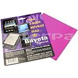 Bayeta microfibra pantalla movil ipad pda e-book camara gafas... color morado