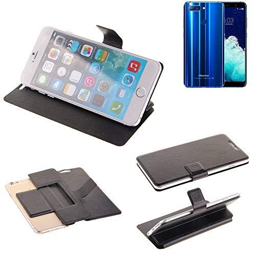 K-S-Trade Schutz Hülle für Hisense Infinity H11 Pro Schutzhülle Flip Cover Handy Wallet Case Slim Handyhülle bookstyle schwarz