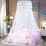 AIHOME Doppelbett Moskitonetz Baby Baldachin Mückennetz Kinderzimmer Insekten Malaria Schutz