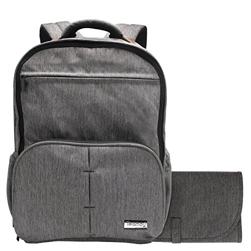Teamoy Baby Wickeltasche Reisen Rucksack Handtasche, großes, Wickelauflage , gut Material Passform für Kinderwagen, Windel Rucksack Tragetasche