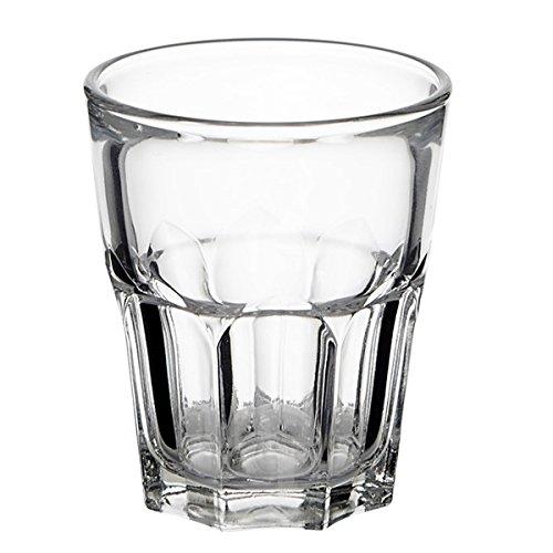 Arcoroc Granity - Lot de 12 verres bas pour liqueurs, eau, cocktails - 4,5 cl