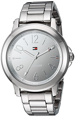 Tommy Hilfiger Women's 'Sport' Quartz Stainless Steel Casual Watch, Color:Silver-Toned (Model: 1781750)