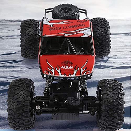 Kikioo 1:14 RC Racing 4WD Fuoristrada Crawlers Chariot 140 m/min off Road Telecomando 2.4GHz Auto Climbing Auto radiocomandate Buggy Camion Fuori Strada for Bambini Adulti Hobby Gioca Il Regalo (co
