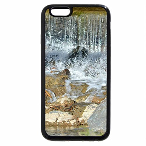 iPhone 6S / iPhone 6 Case (Black) River waterfalls