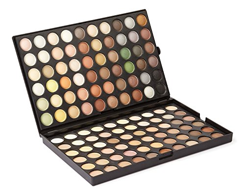 LaRoc 120 Lidschatten Farbe Palette Bilden Schönheit Make-up Professional Box - Winter Töne (Make-up Von Mac Cosmetics Professional)