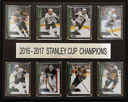 C & I Sammelfiguren Herren 1215sc178C 30,5x 38,1cm Pittsburgh Penguins 2016-2017Stanley Cup Champions gefaltet Plaque, braun, Keine Größe -