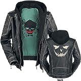 Suicide Squad The Joker Lederjacke schwarz L