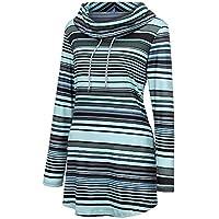 Hanomes Damen pullover, Damen Winter Warm Outwear Solid Kapuzenpullis Vintage Oversize Coats preisvergleich bei billige-tabletten.eu