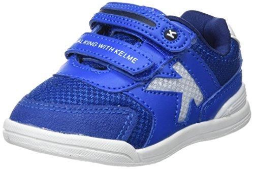Kelme Tech Mesh, Zapatillas de Estar por casa Bebé Unisex, Azul (Royal 703), 22 EU