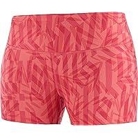 SALOMON Agile Short Tight Pantalón Corto, Mujer, Cayenne/ao, S