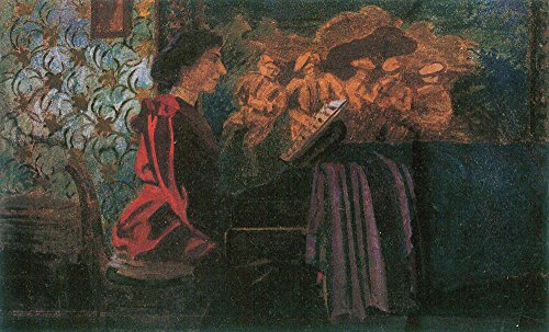 Das Museum Outlet - The Piano von Felix Vallotton - A3 Poster