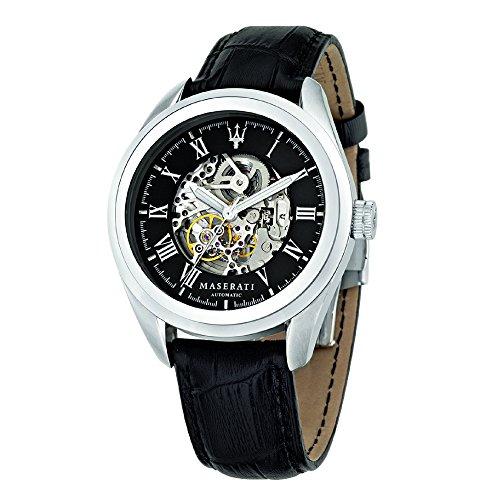Maserati Men's Automatic Watch Analogue XL Leather R8871612001
