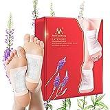 Lavanda Detox Foot Patches, Kobwa 10PCS assistenza sanitaria detergente piedini per Disintossicare, perdita di peso, antistress, migliora il sonno, circolazione del sangue