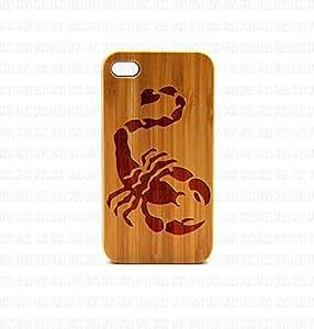 Krezy Case Real Wood iPhone 5s Case, scorpion iPhone 5s Case, Wood iPhone 5s Case, Wood iPhone Case