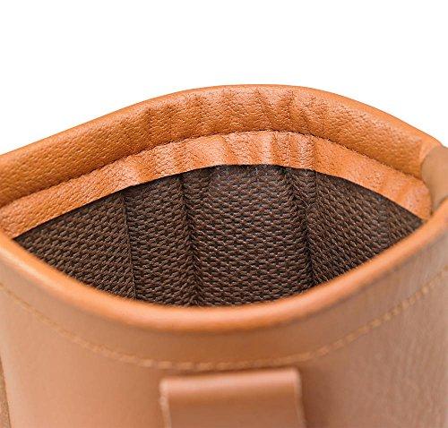 Click Workwear/statique en cuir antidérapant chaussures de sécurité Rigger botte de travail bronzage