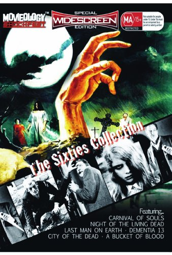 Preisvergleich Produktbild Dementia 13 / Last Man On Earth / City Of The Dead aka Horror Hotel / Carnival Of Souls / A Bucket Of Blood / Night Of The Living Dead (1968) [Widecreen Edition]
