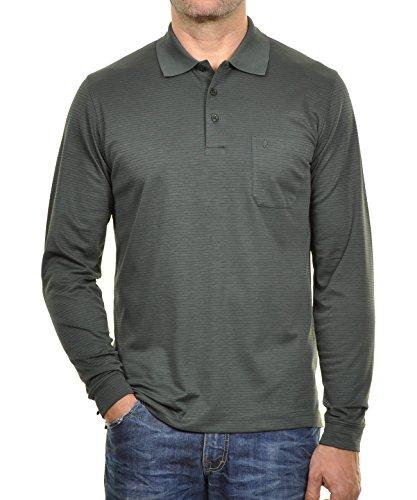 RAGMAN Herren Poloshirt Easy Care Waldgrün-034