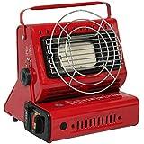 Portable Gas Calefacción Outdoor Calefactor Gas Calefacción Camping Estufa 1300W Rojo