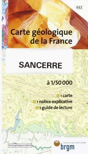 Carte géologique : Sancerre par Cartes BRGM