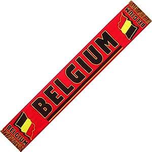 """*** PROMOTION *** Echarpe supporter - Belgium Belgique """"Diables Rouges"""""""