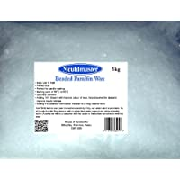 Moldmaster - Cera para velas (5 kg, color transparente)