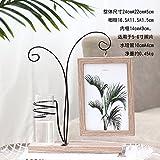 SQBJ Piccola fresca personalità creative legna 6 inch foto tabella camera da letto arredamento decorazione vaso idroponica,6 pollice,532 alberi cornice immagine