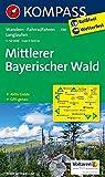 Mittlerer Bayerischer Wald: Wanderkarte mit Aktiv Guide, Radwegen und Langlaufloipen. GPS-genau. 1:50000: Wandelkaart 1:50 000 (KOMPASS-Wanderkarten, Band 196)