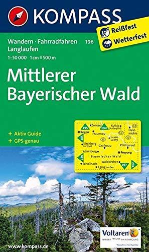 Mittl. bayerischer wald 196  1/50.000