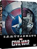 Captain America: Civil War 3D (Includes 2D Version) - Limited Edition Steelbook Blu-ray