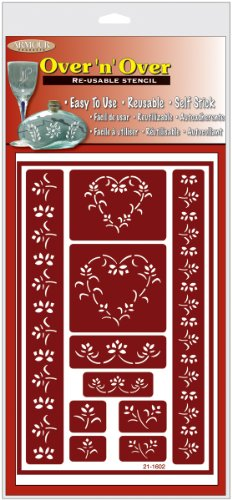 armour-etch-over-n-over-stencil-floral-hearts